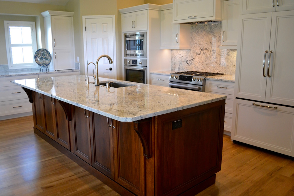 Kitchen Granite Island Ideas